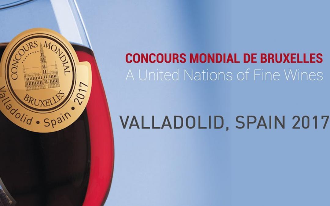 Vinos premiados en el Concurso Mundial de Bruselas 2017